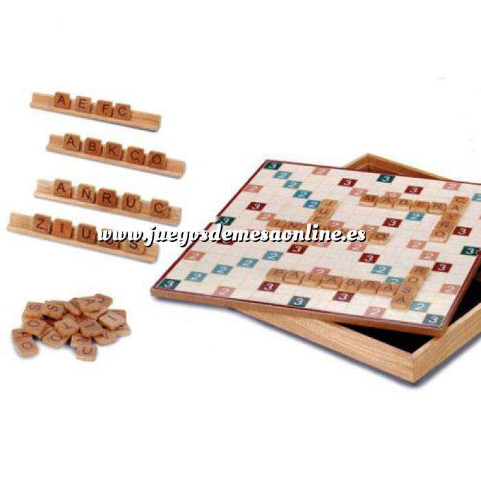 Imagen Otros juegos y Casino Scrabble - Formapalabras en madera Deluxe