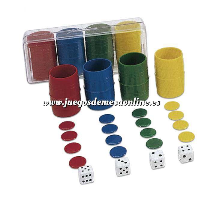 Imagen Parchís y Oca Accesorios Parchís / Oca para 4 jugadores