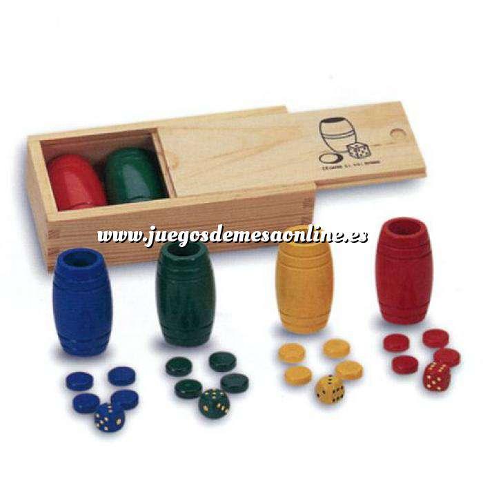 Imagen Parchís y Oca Accesorios Parchís / Oca para 4 jugadores en madera
