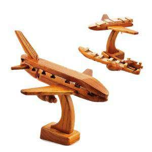 De madera - Puzzle madera Avión - Ingenio