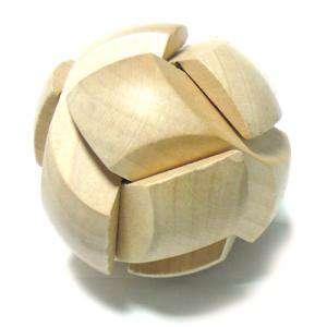De madera - Puzzle madera esfera