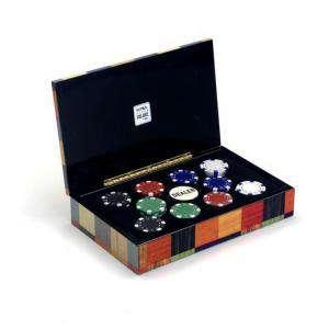 Fichas - Caja 100 fichas casino de 11,5 g
