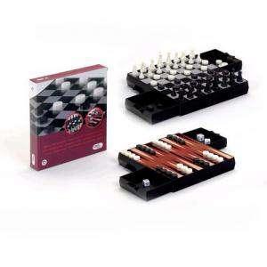 Magnéticos - Pack Ajedrez - Damas y Backgammon Magnético