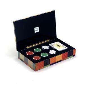 Maletines Poker - Baraja de cartas Poker y 60 Fichas 11.5 g.