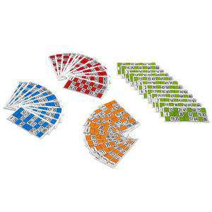 Otros juegos y Casino - Cartones de lotería. 24 Uds.