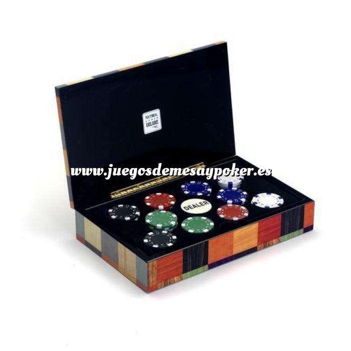 Imagen Fichas Caja 100 fichas casino de 11,5 g
