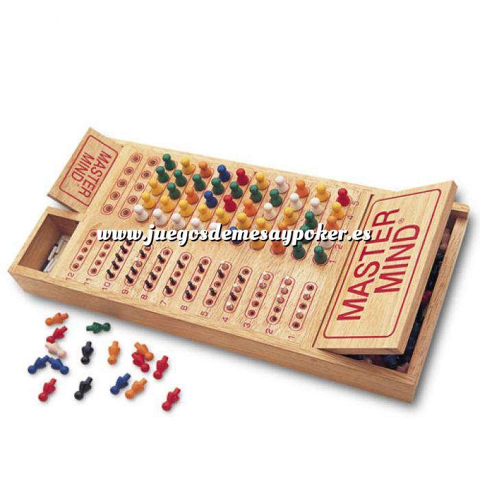 Imagen Otros juegos y Casino MASTER MIND COLORES MADERA