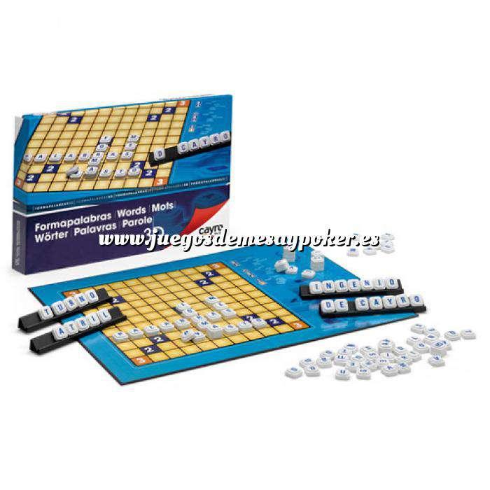 Imagen Otros juegos y Casino Scrabble - Formapalabras 3D