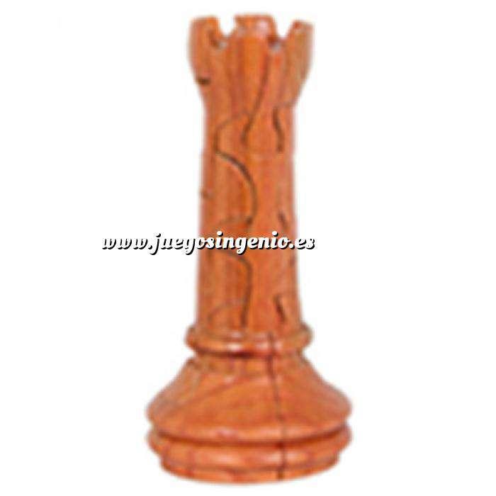 Imagen De madera Puzzle madera Torre Ajedrez Gigante
