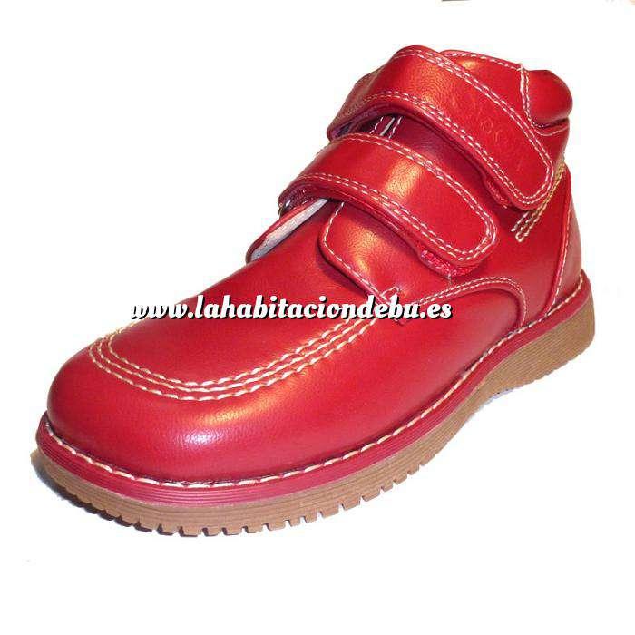 Imagen Rojo BTIN Botín niño en piel Rojo Talla 35