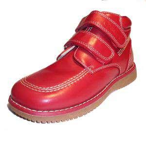 Imagen 641_BTIN Botín niño en piel Rojo Talla 30