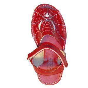 Imagen Spiderman Avarca - Menorquina piel niño Spiderman Talla 29