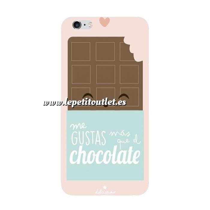 Imagen Fundas para móvil Funda de móvil: Me gustas más que el chocolate.