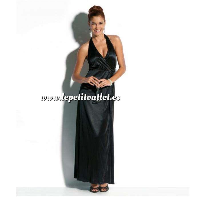 Imagen Talla 40-42 (L) Vestido largo de fiesta Color negro Talla 42-44 (Ref.041691) (Últimas Unidades)