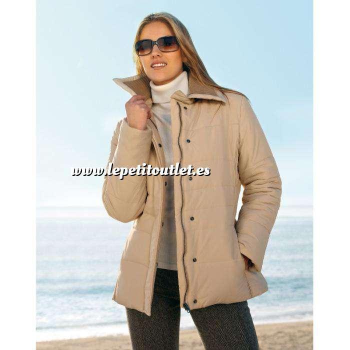Imagen Talla 42-44 (M) Chaqueta acolchada con cremallera Color beige Talla 42 (Ref.063180) (Últimas Unidades)