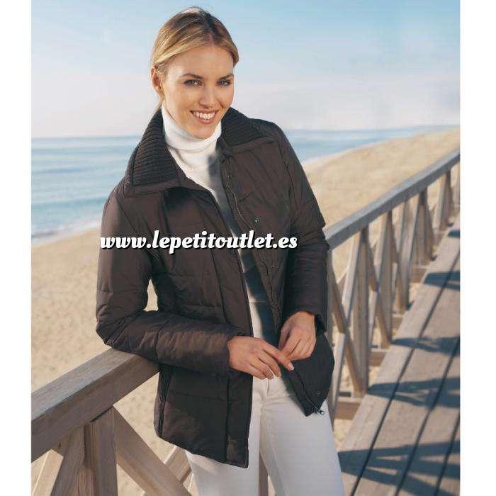 Imagen Talla 42-44 (M) Chaqueta acolchada con cremallera Color chocolate Talla 42 (Ref.063192) (Últimas Unidades)