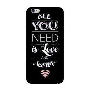 Fundas para móvil - Funda de móvil: All you need is love and wifi.
