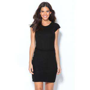 Imagen Talla 40-42 (L) Vestido corto de fiesta Negro Talla 42-44 (Ref.014682) (Últimas Unidades)