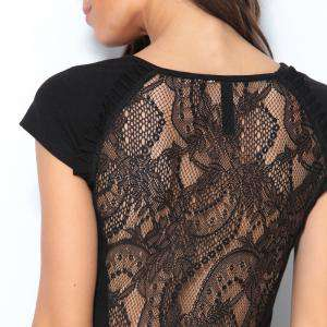 Talla 40-42 (L) - Vestido corto de fiesta Negro Talla 42-44 (Ref.014682) (Últimas Unidades)