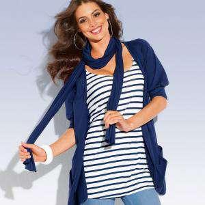 Talla 46-48 (L) - Chaqueta camiseta mujer Manga corta Talla 46-48 (Ref.004323) (Últimas Unidades)
