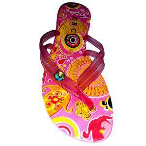 Tallas 40-42 - Chancla Playa Rosa Colorines Talla 41 (PDE) (Últimas Unidades)