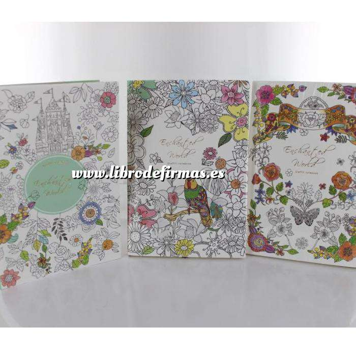 Imagen Agendas Cuaderno Encharted World (Mundo Encantado) - Modelos surtidos