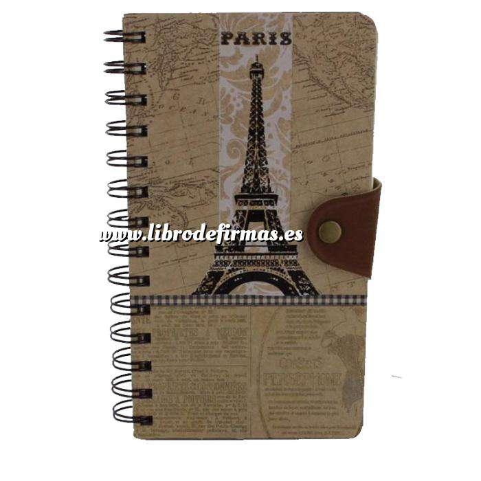 Imagen Agendas Libro de Firmas Kraft Torre Eiffel (Últimas Unidades)