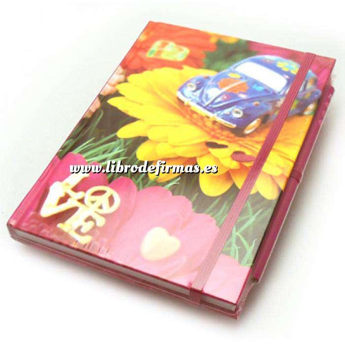 Imagen Agendas Libro de Firmas LOVE con coche (Últimas Unidades)