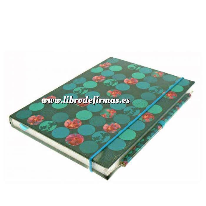 Imagen Agendas Libro de Firmas ORQUÍDEAS Mosaico (Últimas Unidades)