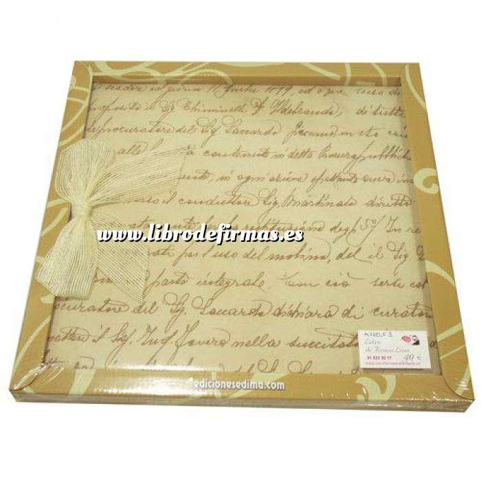 Imagen Álbumes Libro de Firmas LAZO 03 Declaración de Amor