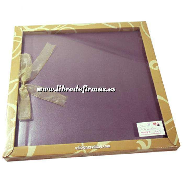 Imagen Álbumes Libro de Firmas LAZO 11 Lila Clásico