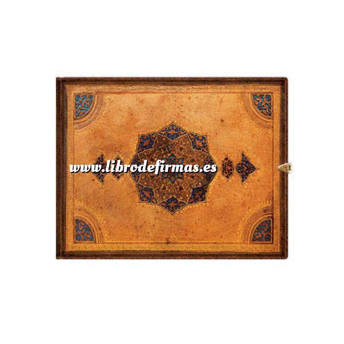 Imagen Apaisados Libro de Firmas o de visitas Safavid (Apaisado y con broche)