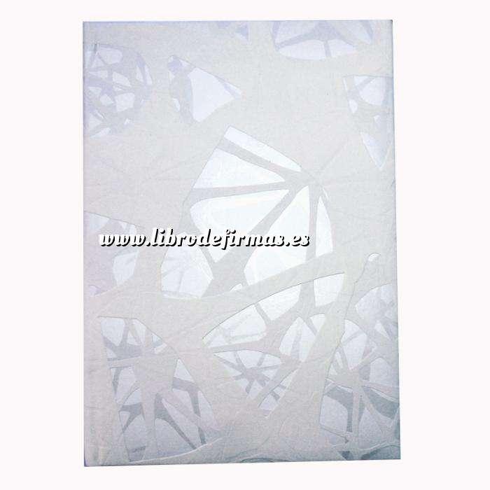 Imagen Clásicos Libro de Firmas HILERAS Blanco (Últimas Unidades)