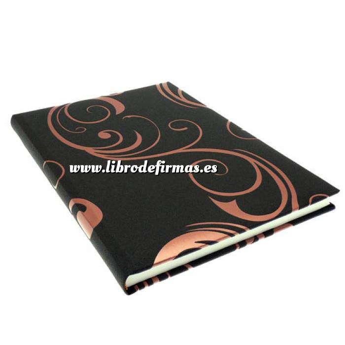 Imagen Clásicos Libro de Firmas RIZOS Marrón Cobre (Últimas Unidades)
