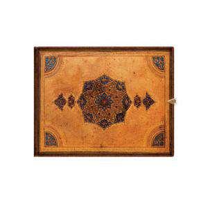 Apaisados - Libro de Firmas o de visitas Safavid (Apaisado y con broche)