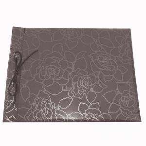 Imagen Clásicos Libro de firmas apaisado Rosas Gris más maletín (POR ENCARGO - NO STOCK) (Últimas Unidades)