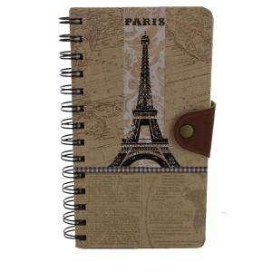 Agendas - Libro de Firmas Kraft Torre Eiffel (Últimas Unidades)