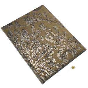 Brillante - Libro de firmas Volutas MARRÓN