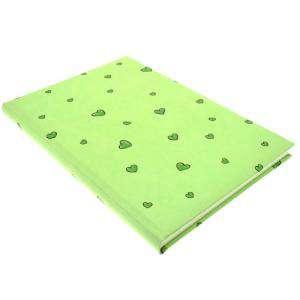 Textura - Libro de Firmas CORAZONES Verde (Últimas Unidades)