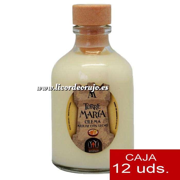 Imagen Licores, orujos y crema Crema de Arroz con leche ROCÍO 50 (Torre María) - CAJA DE 12 UDS
