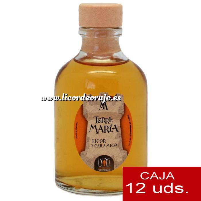 Imagen Licores, orujos y crema Licor de Caramelo ROCÍO 50 (Torre María) - CAJA DE 12 UDS