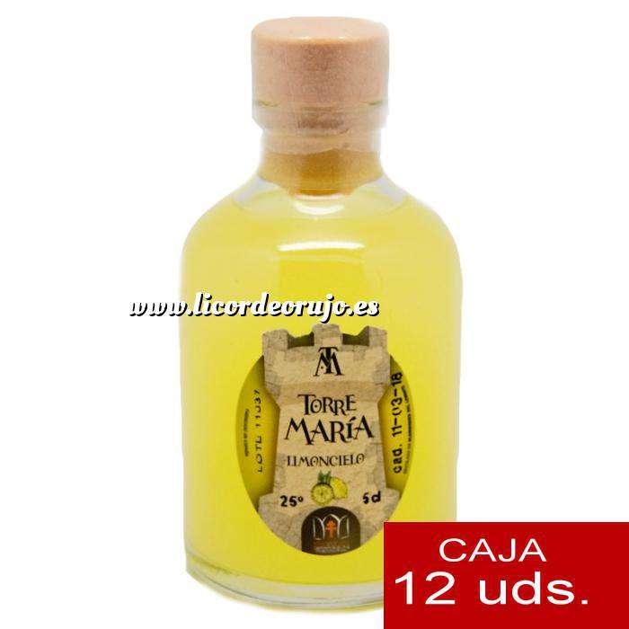 Imagen Licores, orujos y crema Licor de Limón ROCÍO 50 (Torre María) - CAJA DE 12 UDS