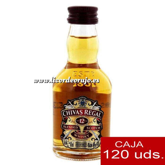 Imagen Whisky Whisky Chivas Regal 12 años Blended 5cl CAJA DE 120 UDS