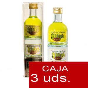 Licores, Orujos y Crema - Triple Orujo de hierbas, Aguardiente de Orujo y Cafe Panizo 5cl