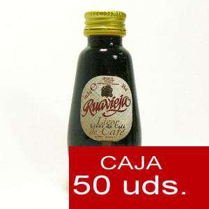 Licores, orujos y crema - Licor de Café Ruavieja 5cl CAJA DE 50 UDS