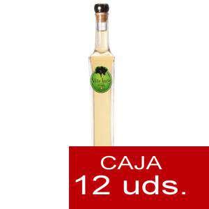 Licores, orujos y crema - Orujo de Hierbas Villa Lucía ESMERALDA 10 cl. CAJA DE 12 UDS (Últimas Unidades)