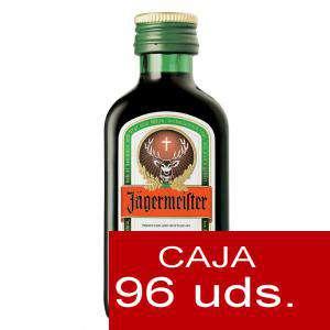 Varios - Jagermeister 4cl Cristal CAJA 96 UDS ( ULTIMAS CAJAS )