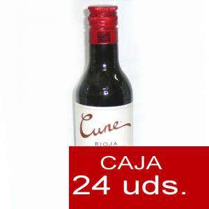 Vino - Vino Cune crianza 18.7 cl CAJA DE 24 UDS