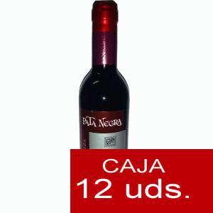 Vino - Vino Pata Negra Rioja Crianza 37.5 cl CAJA COMPLETA 12 UDS