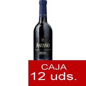 Vino - Vino RIOJA CRIANZA Antaño 37.5 cl CAJA COMPLETA 12 UDS
